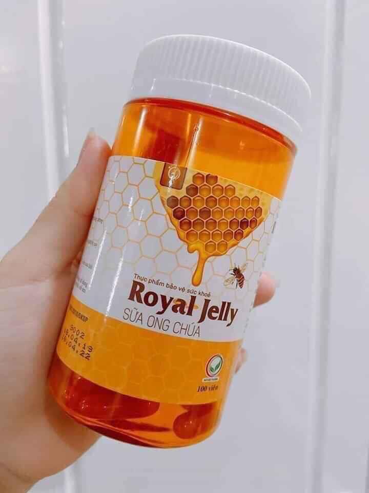 Viên Sữa Ong Chúa Schon Royal Jelly Đẹp Da, Chống Lão Hóa