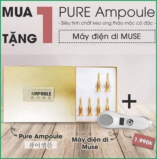Tinh chất keo ong Ampoule Pure